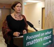 Manitoba Health Minister Teresa Oswald