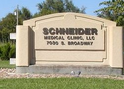 The former Schneider Medical offices