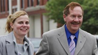 Dr Stephen Schneider & wife Linda