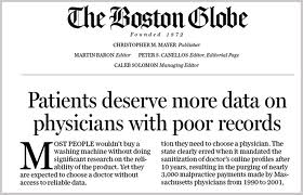 Dr Boston Globe Page