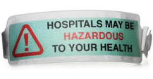 Shh Hospital Haz to Hlth wrist tag