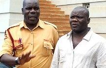Gold Scammer Edward Dumba Muwawu (right)
