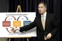 U.S. Attorney Paul Fishman explains the doctor kickback scheme