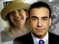 Dr Ehab Mohammed and patient Sharon Nicholson, now dead