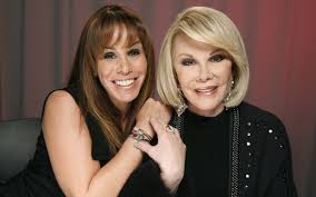 Melissa & Joan Rivers in happier times