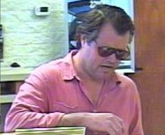 Dr Damian Newhart Robbing Bank of the West, Huntington Beach California