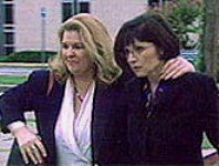 Gail Bridges (right)