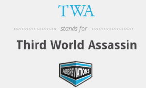 THIRD WORLD ASSASSIN