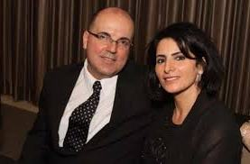 Dr Farid Fata and wife
