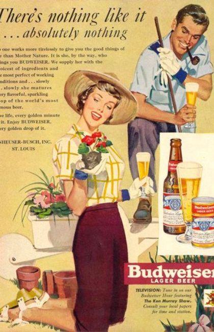 BEER Gardening ad