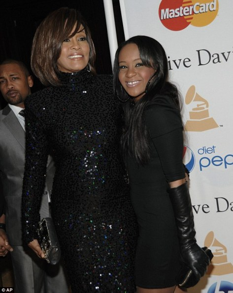 Whitney Houston & Daughter Christina