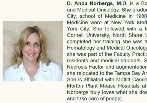 Dr Diana Anda Norbergs